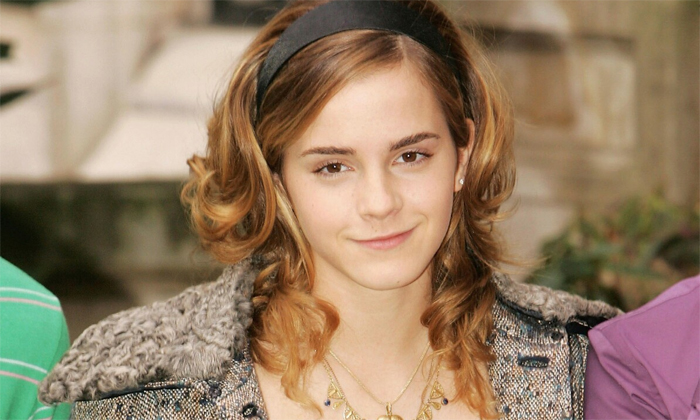 Harry Potter And The Goblet Of Fire Photocall Sassy Emma Watson
