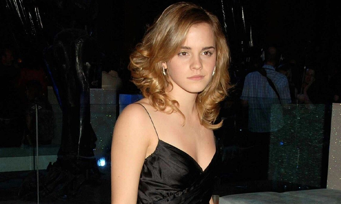 Harry Potter And The Goblet Of Fire London Premiere After Party Sassy Emma Watson